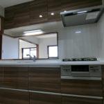 システムキッチン新調!使いやすい対面式キッチンです(*´ω`*)