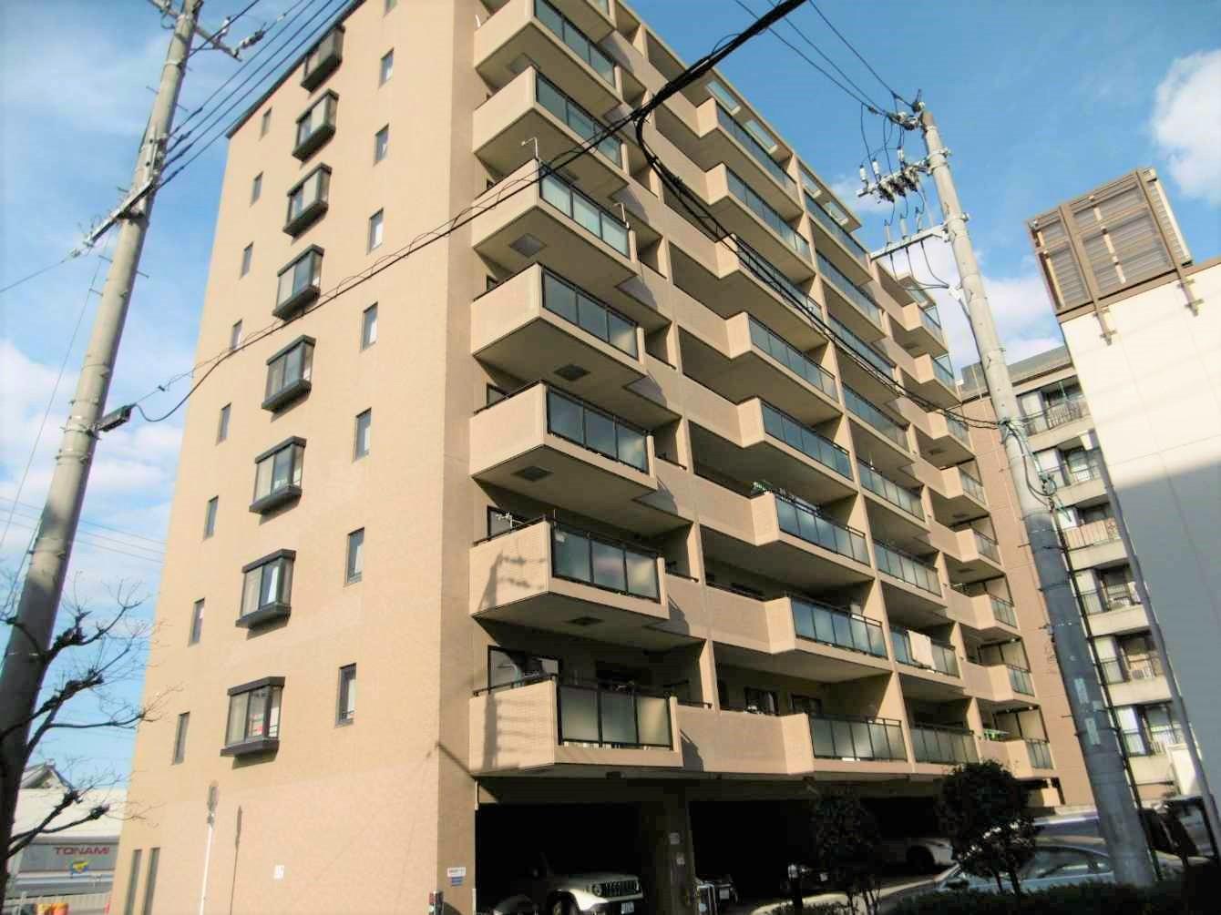 今里筋線「新森古市」駅まで徒歩3分!!利便性抜群で、城東区内でも人気のマンションです!
