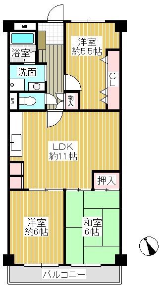 和室もあり、収納スペースも豊富です\(◎o◎)/!