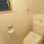 1階部分のトイレです!